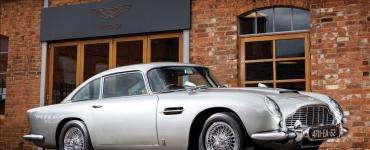 "1965 Aston Martin DB5 ""Bond Car"" Simon Clay ©2019 Courtesy of RM Sotheby's"