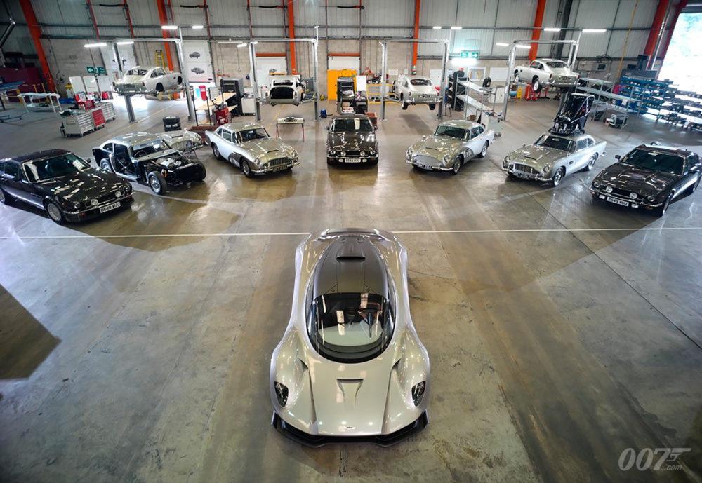 Bond 25 Greg Williams Aston Martin DB5 V8 Valhalla