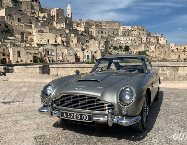 No Time To Die Aston Martin DB5 MAtera Italie fotoshoot 001