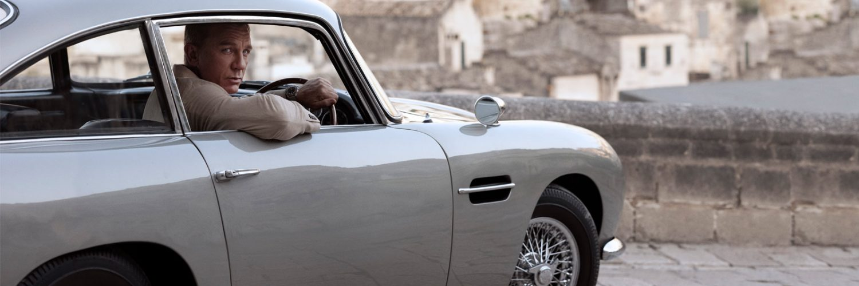 Omega James Bond No Time To Die Daniel Craig Aston Martin DB5 Matera Italie