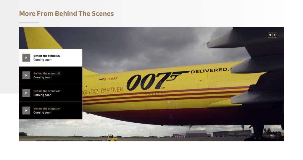 De website van DHL
