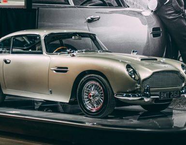 Header Aston Martin DB5 Petersen Automotive Museum