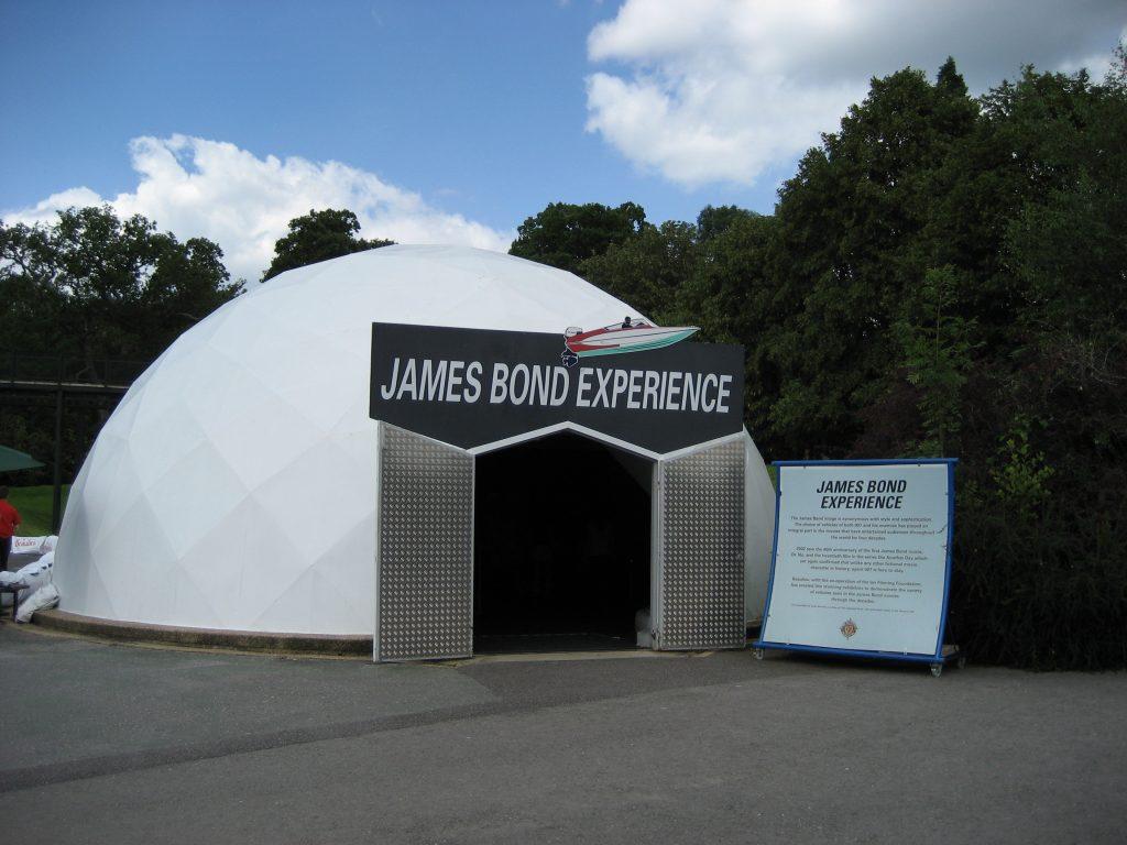 De James Bond Experience in Beaulieu.