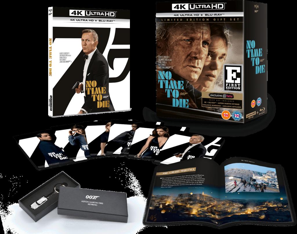 No Time To Die HMV 4k Ultra HD Bluray 003
